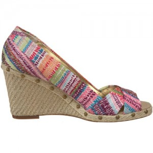 Anne Klein Sunkiss Espadrilles Rainbow Colors